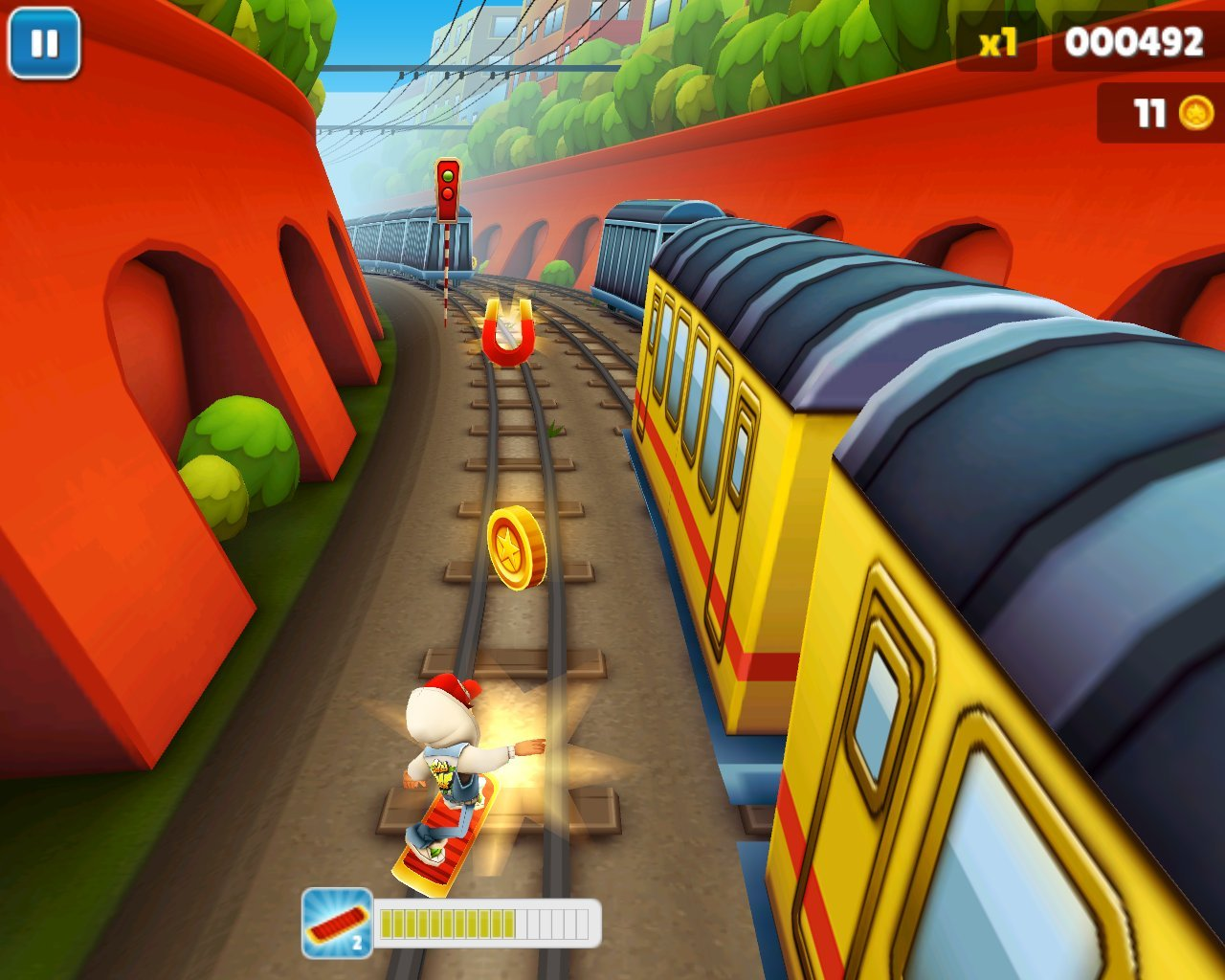Subway surfers видео реально