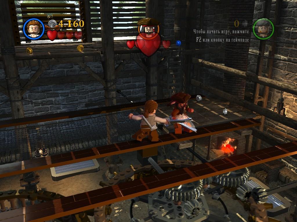 Игара лего пираты карибского моря
