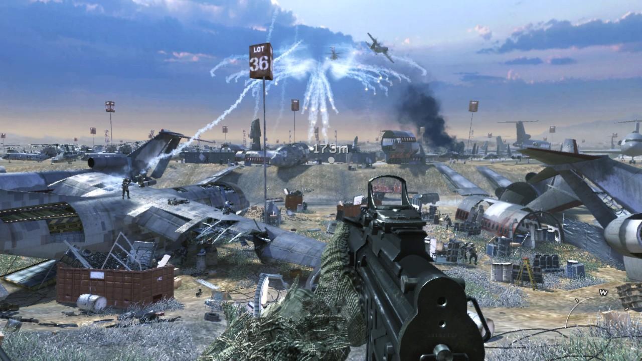 Call of Duty pokročilé vojny PC dohazování