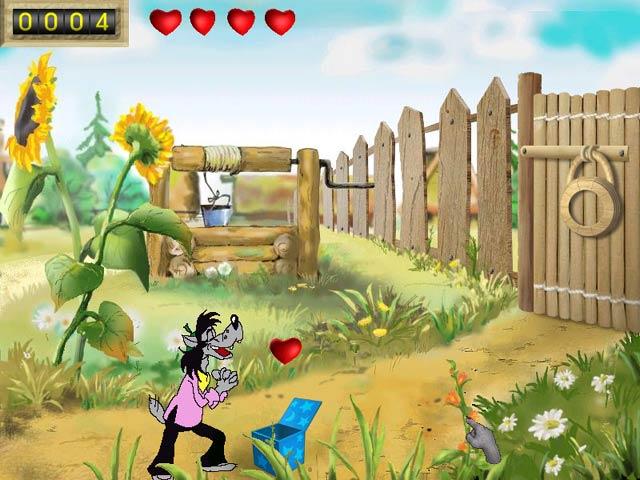 Скриншоты игры Ну Погоди Выпуск 1 Погоня