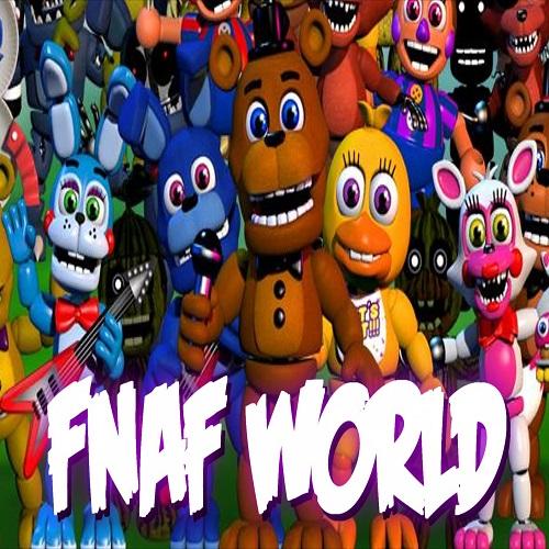 Скачать игру ФНАФ Ворлд бесплатно через торрент
