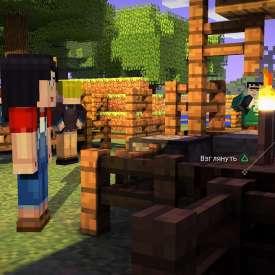 обзор игры майнкрафт стори моде 3 эпизод